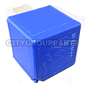 RENAULT MODELS 2010 ONWARDS 4 PINS BLUE RELAY 8200337666 Tyco V23136-J4-X60 12V